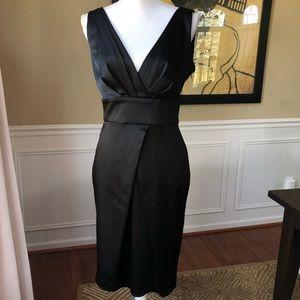 Calvin Klein Satin LBD Little black dress